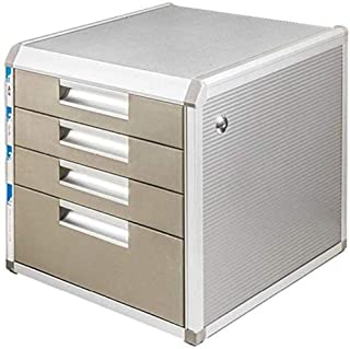 Module de rangement Classeurs 4e étage en Plastique tiroirs Unité Fournitures de Bureau Papier Sorter Armoire Storage Mana...