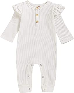 Duduai Toddler Girl Summer Outfits Sunflower Romper Baby Girl Jumpsuit Shorts Strap Playsuit Bodysuit Newborn Clothes