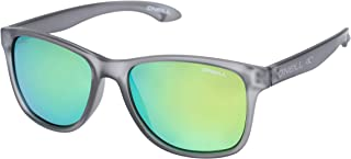 O'Neill Square Frame Polarized Sunglasses, Matte Grey, 55 mm