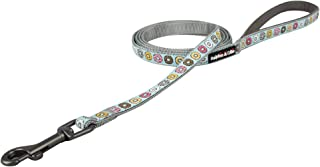 Ralphie & Ollie Cute Dog Leash|Strong & Durable Pet Leash Lead with COLORFUL DONUTS Pattern|Heavy Duty Gun-Metal Collar Hook|Soft & Comfortable handle|6FT Length|Matching Collar sold Separately