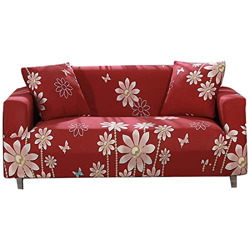 Awesome Floral Loveseat Slipcovers Amazon Com Ibusinesslaw Wood Chair Design Ideas Ibusinesslaworg