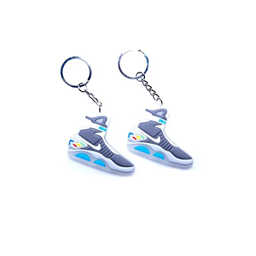 6171810ac42 Glow in the Dark Air Mag Back to the Future 2D Flat Sneaker Keychain (2