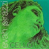 Pirastro Evah Pirazzi 1/2-3/4 Cello String Set - Medium Gauge [並行輸入品]