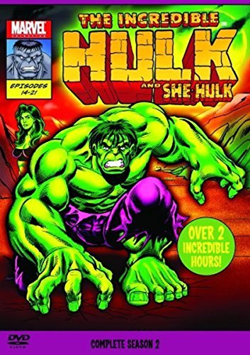 and She Hulk 1996 - Staffel 2 (2 DVDs)