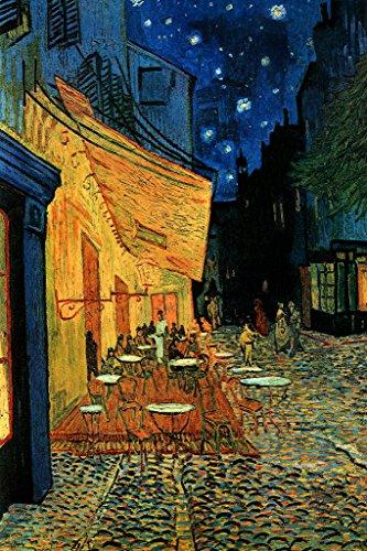 Terrasse de Cafe la nuit Poster Vincent Van Gogh (61cm x 91,5cm)