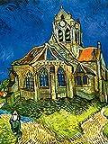 1art1 Vincent Van Gogh - Die Kirche Von Auvers, 1890 Poster
