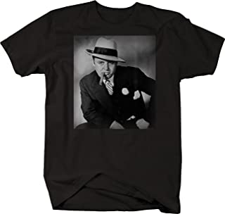 Retro Al Capone Suit Cigar American Gangster Retro Vintage T Shirt for Men