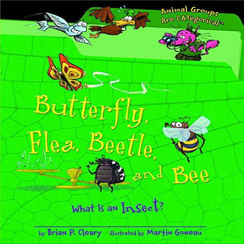 Butterfly, Flea, Beetle, and Bee copertina