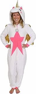 Secret treasures Womens Unicorn character sleepwear one piece costume union suit pajama (X-Large)