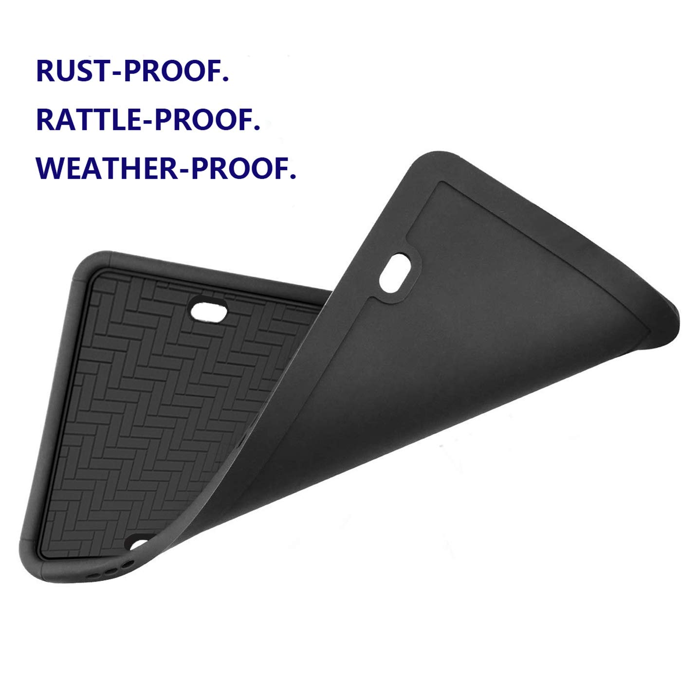 Frames Synrroe Silicone License Plate Frame Rust-Proof Weather ...