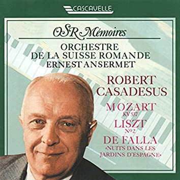 "Mozart: Piano Concerto No. 26 in D Major, K. 537 ""Coronation"" - Liszt: Piano Concerto No. 2 in A Major, S. 125 - Falla: Nights in the Garden of Spain, G. 49 (Live)"