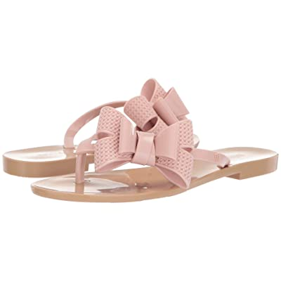 Melissa Shoes Harmonic Bow V (Beige/Pink) Women