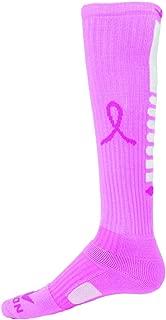 Red Lion Ribbon Pegasus 2 Breast Cancer Awareness Sock