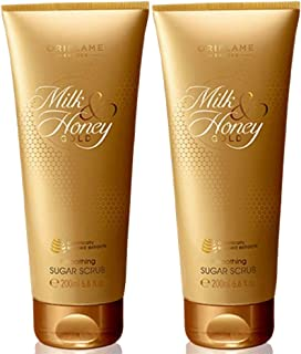 Oriflame Sweden Milk And Honey Gold Set Scrub, 200gms - pack of 2