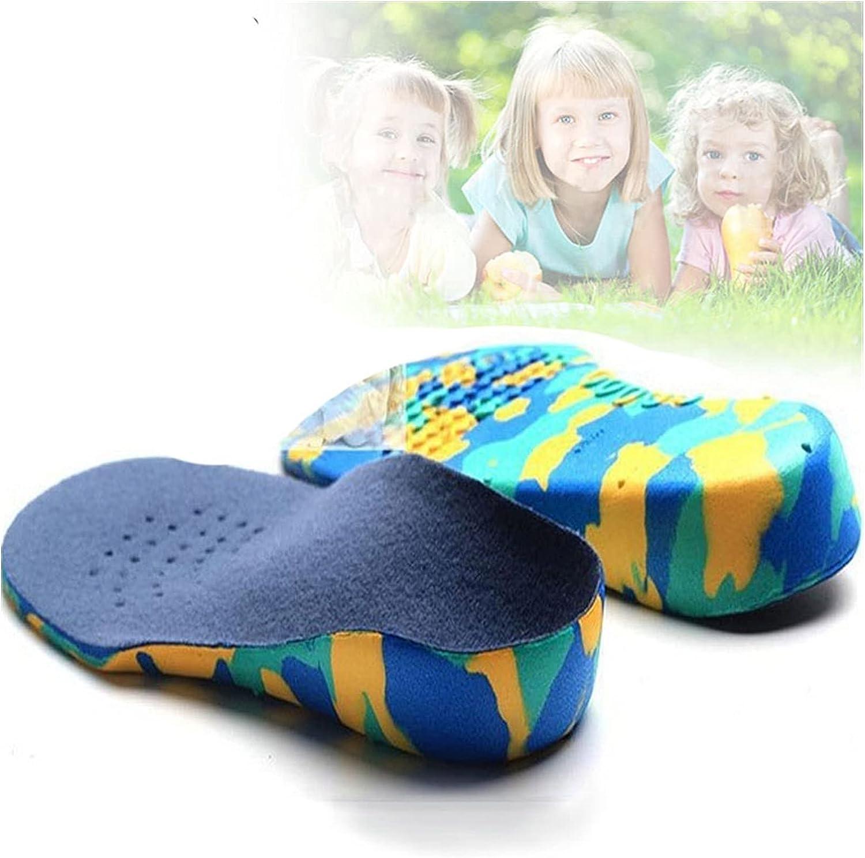 Almohadilla para zapatos Niños Orthotics Plantillas Corrección Herramienta de cuidado para el niño Pie plano Arch Soporte Ortopédico Niños Plantillas Soles Sport Zapatos Pads Almohadilla de repuesto p