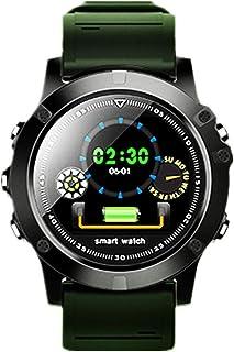 QCHNES Reloj Inteligente L11, Podómetro De Ritmo Cardíaco A Prueba De Agua IP68 Bluetooth Hombres Deportes Al Aire Libre Reloj Inteligente para Android E iOS