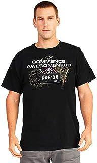 MorphCostumes Digital Dudz Commence Awsomeness Countdown Digital T-Shirt (X-Large, Black)