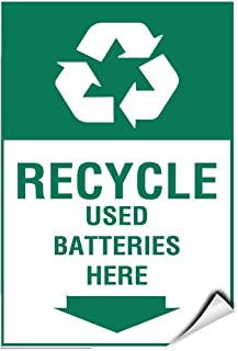 Best battery recycling labels Reviews