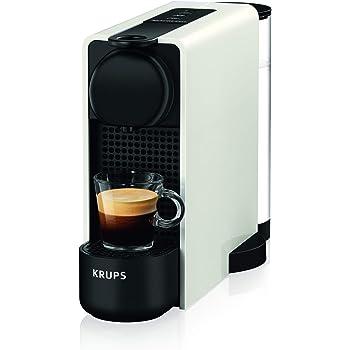 Krups - Máquina de café Espresso Krups Essenza Plus - Máquina de café en cápsulas - 1260W de potencia - Capacidad 1 litro blanco: Amazon.es: Hogar