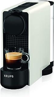 Krups - Máquina de café Espresso Krups Essenza Plus - Máquina de café en cápsulas - 1260W de potencia - Capacidad 1 litro blanco