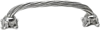 Chalice Center Pull Carpe Diem Hardware 849-9 Acanthus Rope 5-Inch O.C