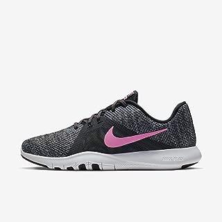 Nike Women's Flex Trainier 8 Training Shoe (6.5 B(M) US, Anthracite/Sunset Pulse/Black)