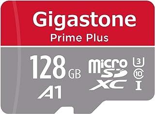 Gigastone Micro SD Card 128GB マイクロSDカード フルHD SD アダプタ付 adaptor SDXC U1 C10 95MB/S 高速 メモリーカード UHS-I Full HD 動画