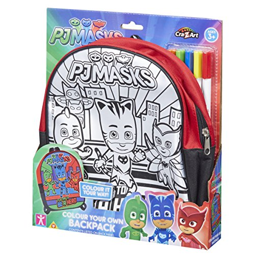 PJ Masks 21303Farbe Ihre eigenen Rucksack Set