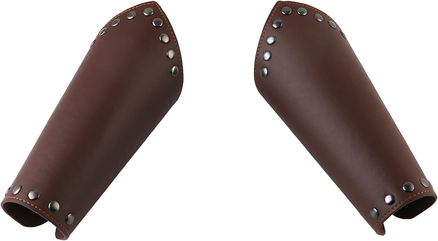 HZMAN Faux Leather Arm Guards - Bracers Siz Cross Medieval One 70% Free Shipping Cheap Bargain Gift OFF Outlet