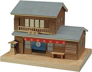 ウッディジョー ミニ建築シリーズ No.4 旅籠 木製模型