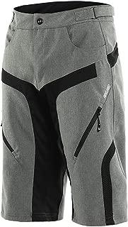 ARSUXEO Men's Cycling Shorts MTB Mountain Bike Shorts Water Resistant 1802