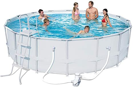 Swimming Pool Blow Up Pool For Family Kids Backyard Foldable Pool Family Time Garden Swimming Pool 549 132cm Amazon Ca Home Kitchen