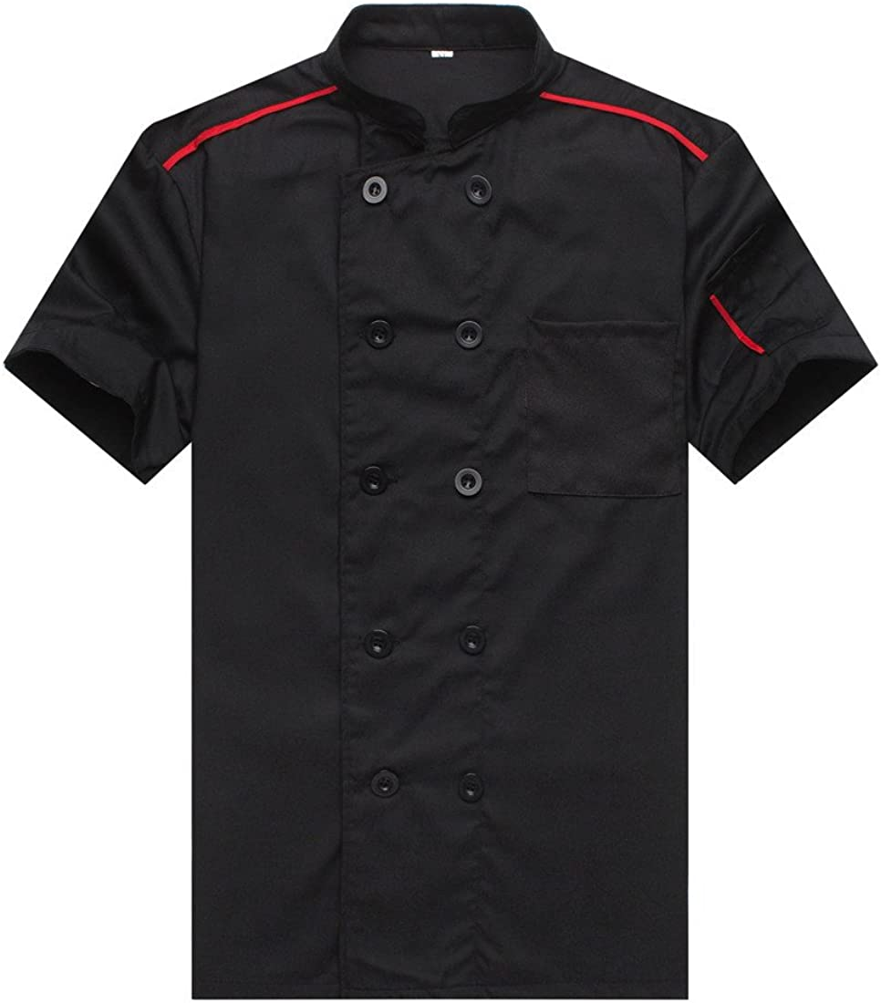 Chef Recommendation Jackets Time sale Waiter Coat Sleeves Short Colors Many