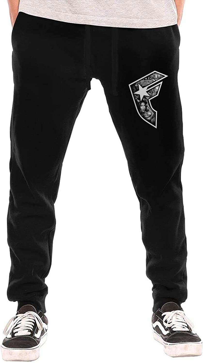 Famous Stars and-Straps Logo Man's Casual Sw Rapid rise with Pockets Jogger All stores are sold