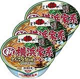 日清 麺 Nippon 横浜家系とんこつ醤油ラーメン 119g ×3個
