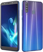 Điện thoại di động Android – Unlocked Cell Phones, 6.1In Ultra-Thin Full Screen-Dual Sim Support 2G GSM&3G Wcdma 4GB RAM+64GB ROM Face &Finger Id -with 38000Mah- Dual Camera 8MP +16MP-Android 8 Support T-Mobile/AT&T(Blue)