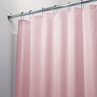 BELLA KLINE DESIGN Deluxe Mildew Free Waterproof Vinyl Shower Curtain Liner - Pink