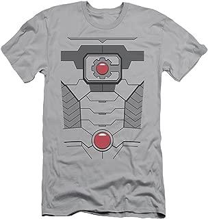 DC Comics Cyborg Costume Adult Slim T-Shirt Tee