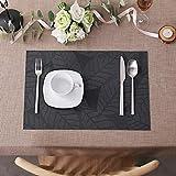 Lovecasa PVC Tischset, Platzset, 6 teilig Set Tischmatte - 6