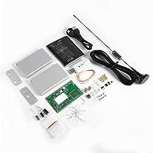 mymerlove 100KHz-1.7GHz Full-Band RTL-SDR USB Tuner Receiver + U/V Antenna DIY Kit Black