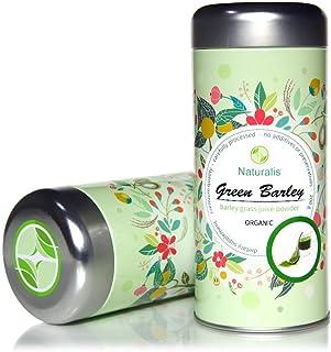 Grüne Gerste Naturalis - Bio & Vegan Höchste Qualität Gerstengrassaft Pulver-200g