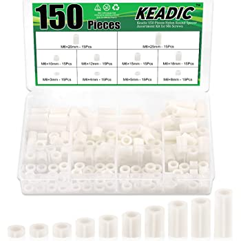 CP3 72-Piece 24-Sets Pegboard Mounting Kit w//24 Spacers Screws and Washers Best Kit Available