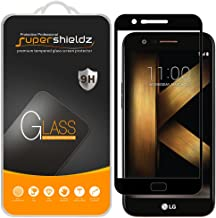 (2 Pack) Supershieldz for LG K20 V (K20V) (Verizon) Tempered Glass Screen Protector, (Full Screen Coverage) Anti Scratch, Bubble Free (Black)