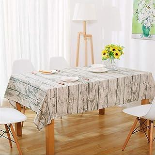 MEISISLEY Nappe Anti Tache rectangulaire Nappe Cuisine Table à Manger Couverture Partie de Linge de Table Table Chiffon es...