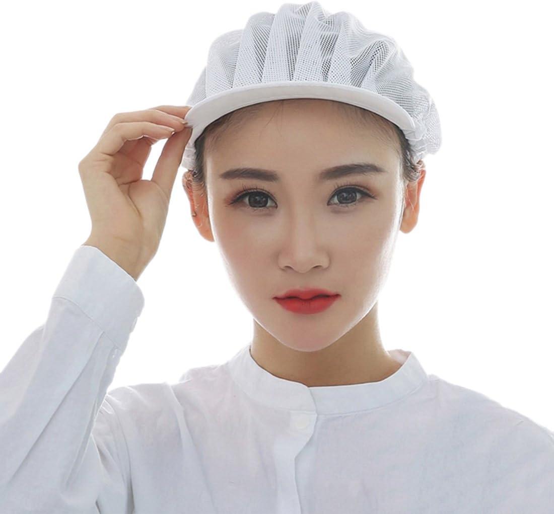FREAHAP R Unisex Mesh Industrial Workshop Protective Working Elastic Kitchen Hats Hair Net