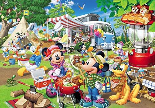 1000ピース ジグソーパズル ディズニー みんなでオートキャンプ! (51x73.5cm)