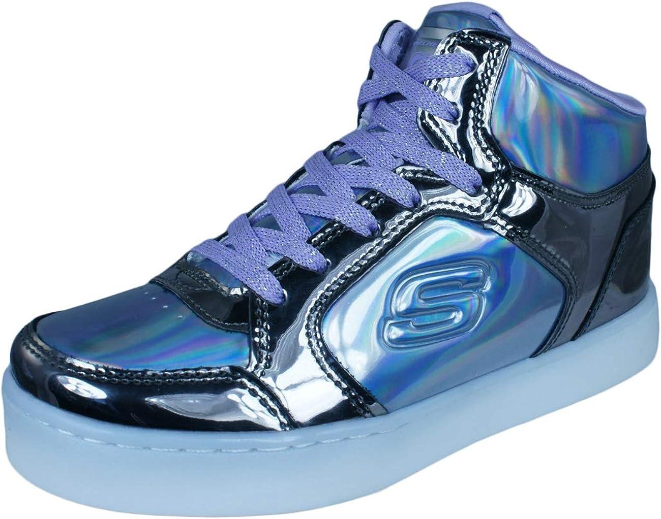 Skechers Girls' Energy Lights - Shiny