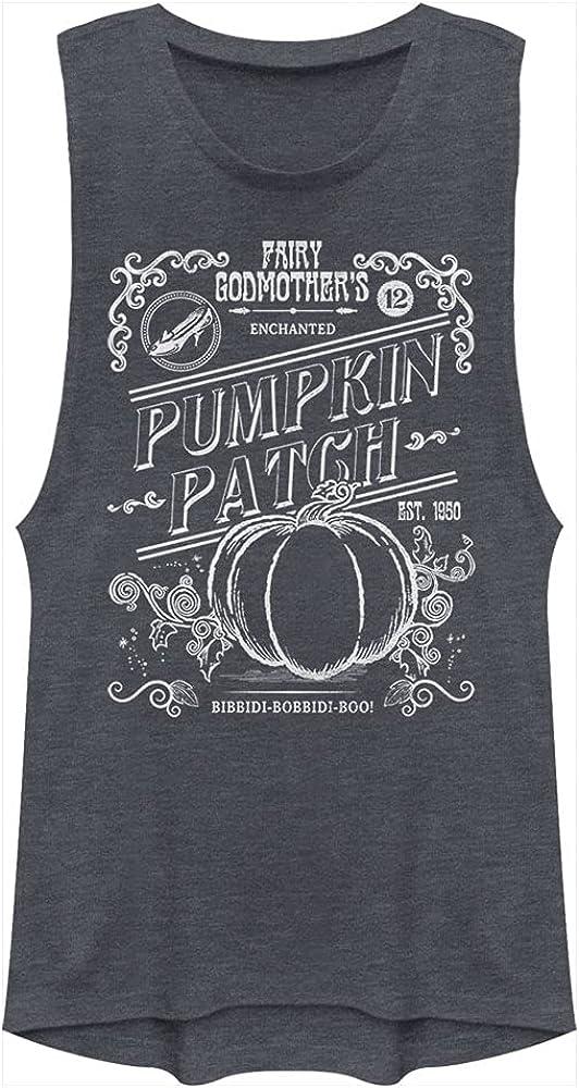 Disney Women's Princess Midnight Pumpkin Patch Festival Muscle