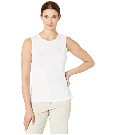 PUMA Golf Sleeveless Tech Tee (Bright White) Women