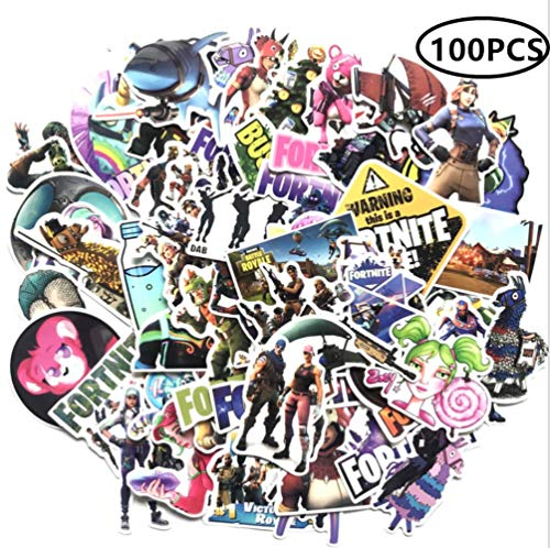 ZIYAN 100PCS Laptop Stickers Anime Waterproof Stickers for Skateboard, Luggage,Helmet,Guitar